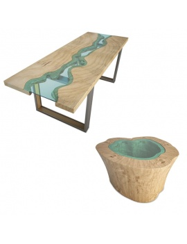 2-tables-riviere-en-3d