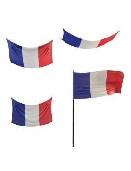 flags-3d-model