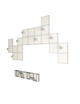 coat-hanger-design-pack-3d-geometric-wireframe