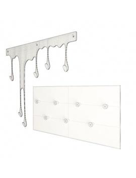 coat-hanger-design-pack-3d-colored-london-wireframe