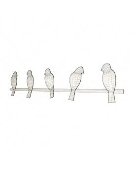 coat-hanger-design-pack-3d-birds-wireframe