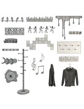 coat-hanger-design-pack-3d
