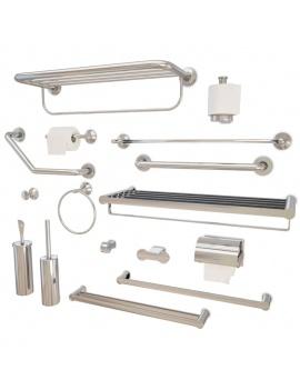 accessoires-metalliques-de-salle-de-bain