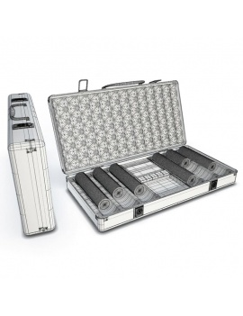poker-case-with-chips-3d-wireframe