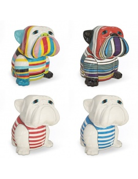 sculptures-decoratives-de-bulldog-3d
