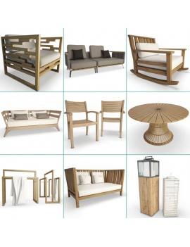 collection-3d-de-mobilier-extérieur-en-bois-couverture