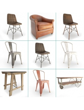 vintage-furniture-tables-and-seats-3d-cover