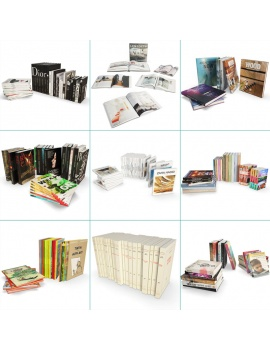 books-collection-opened-and-closed-3d-cover