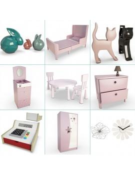pink-girl-bedroom-set-3d-cover
