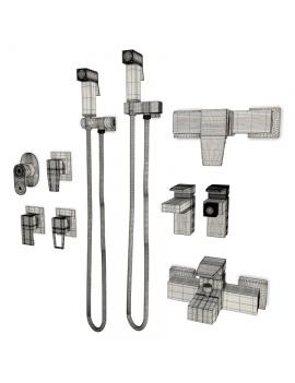 mitigeurs-pour-salle-de-bain-acron-modele-3d-filaire