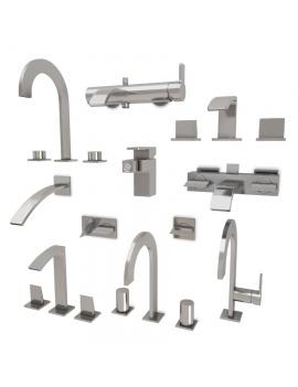 mitigeurs-pour-salle-de-bain-giro-modele-3d