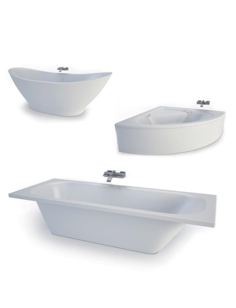 set-de-baignoires-modele-3d