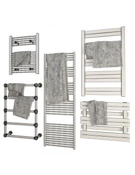metallic-bathroom-radiators-3d-models-wireframe