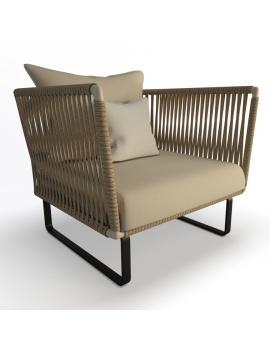garden-armchair-bitta-kettal-3d-model