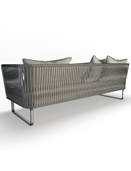 garden-sofa-bitta-kettal-3-seaters-3d-model-01-wireframe