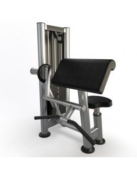 gym-biceps-curl-3d-model