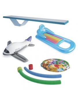 jouets-pour-piscine-modele-3d