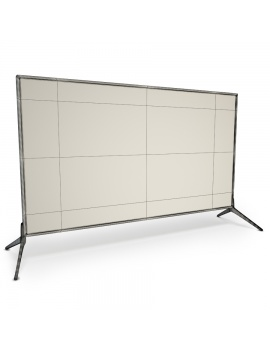 flat-and-curved-tv-3d-model-flat-wireframe
