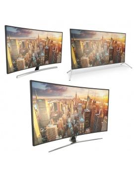 televisions-incurvees-et-modele-3d-ecran-plat