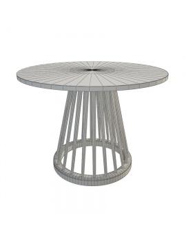 tom-dixon-fan-low-table-3d-model-wireframe