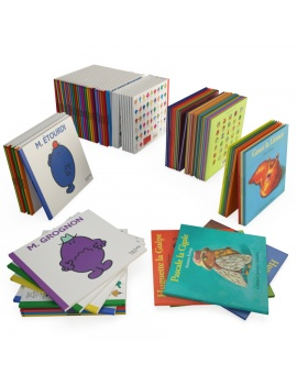 kids-books-3d-model