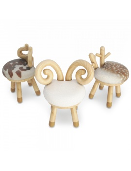 animals-kids-chairs-3d-model