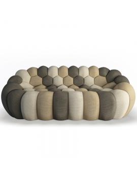 bubble-sofa-roche-bobois-3d-model-front