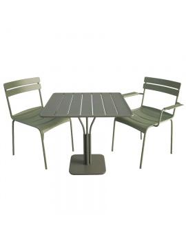 table-et-chaises-metalliques-luxembourg-modele-3d