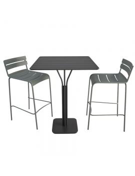 high-metallic-furniture-luxembourg-3d-model