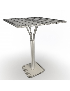 metallic-tables-luxembourg-3d-model-high-table-wireframe