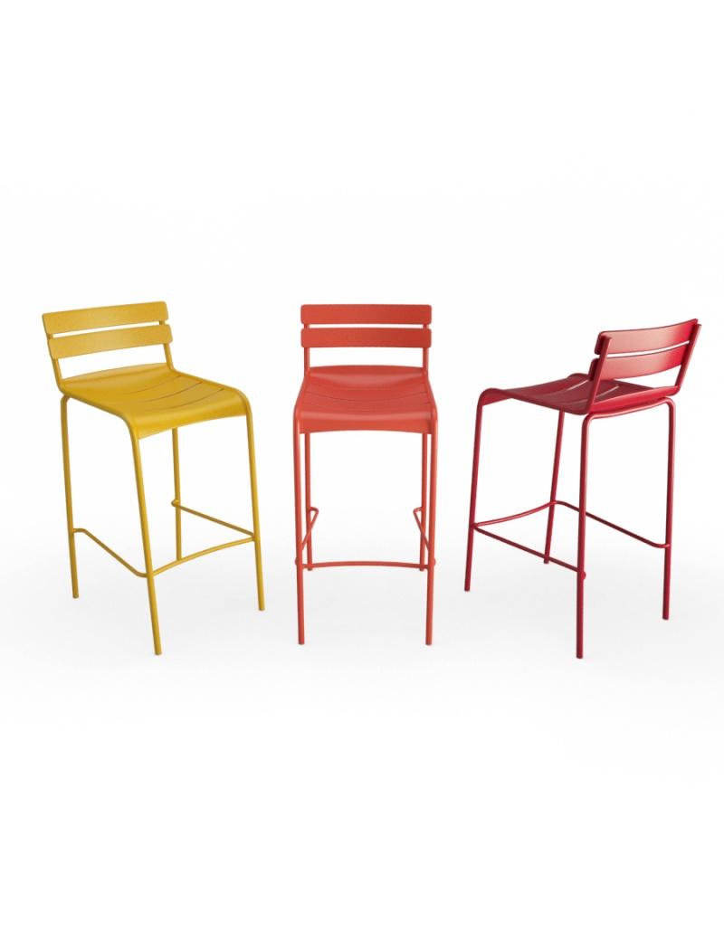 metallic-bar-stools-luxembourg-3d-model