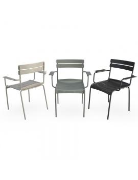metallic-armchairs-luxembourg-3d-model-fermob
