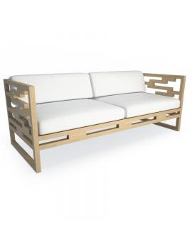 canape-en-teck-kontiki-modele-3d