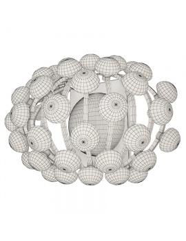 wall-lamp-caboche-foscarini-3d-model-wireframe