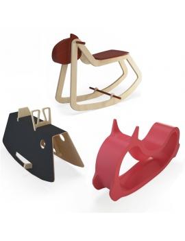 rocking-horses-toys-3d-model