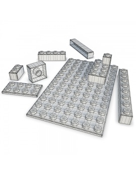 plastic-toys-kids-3d-model-lego-wireframe