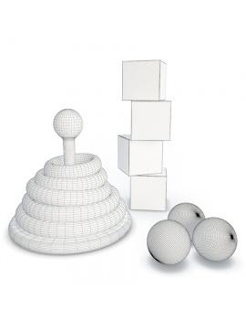 plastic-toys-kids-3d-model-rings-wireframe