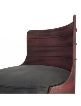 vintage-coloured-barrel-armchaire-3d-model-03