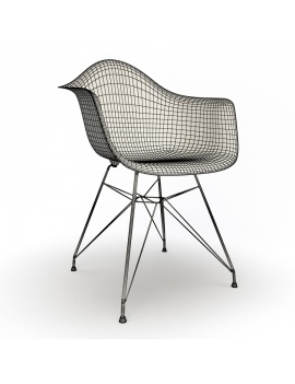 eames-armchair-set-by-vitra-3d-model-dar-wireframe-01