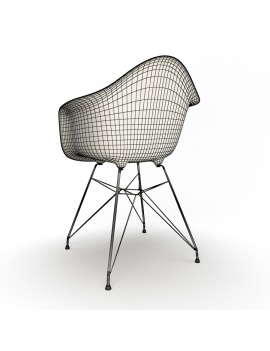 eames-armchair-set-by-vitra-3d-model-dar-wireframe-02