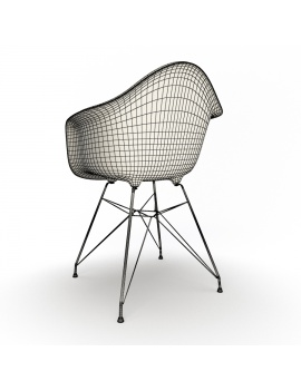 eames-armchair-set-by-vitra-3d-model-darr-wireframe-02
