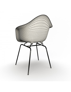 eames-armchair-set-by-vitra-3d-model-dax-wireframe-02