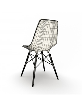 eames-chair-set-by-vitra-3d-model-dsw-wireframe-02