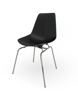 eames-chair-set-by-vitra-3d-model-dsx