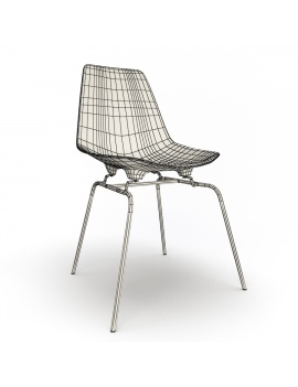 eames-chair-set-by-vitra-3d-model-dsx-wireframe-01
