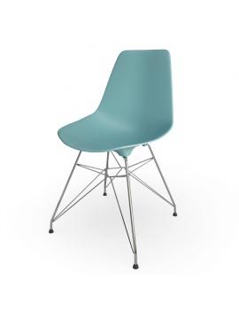 chaise-eames-dsr-vitra-modele-3d