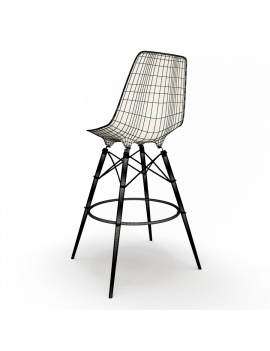 eames-stool-dsw-vitra-3d-model-wireframe-02