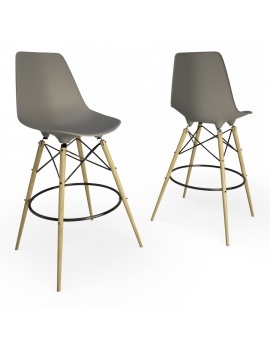 eames-chair-and-stool-by-vitra-3d-model-dsw-stool