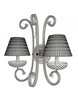 classic-crystal-double-wall-lamp-3d-model-wireframe