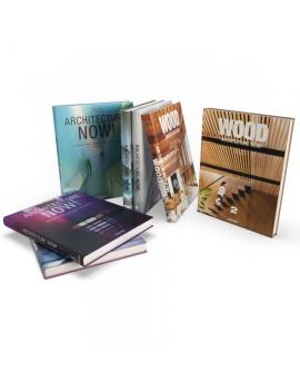 set-of-architecture-books-3d-model